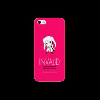 電書ちゃんねるの電書ちゃん Invalid シリーズ Smartphone cases