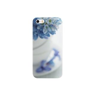 blue fflower Smartphone cases