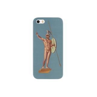 ポンペイ遺跡 裸の戦士 Smartphone cases
