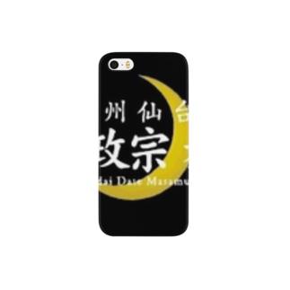 伊達政宗麦酒グッズ Smartphone cases