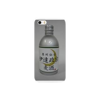 伊達政宗麦酒(缶) Smartphone cases
