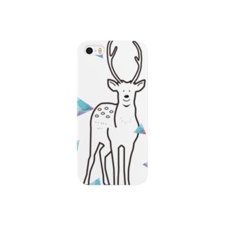 peco.の鹿のカーシー Smartphone cases