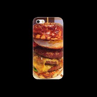 すぎうらまさみのハンバーガー3段 Smartphone cases