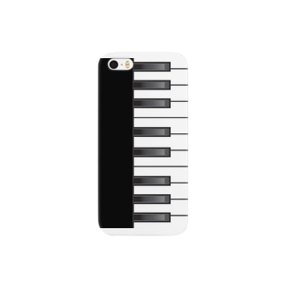 家紋家(かもんや)のピアノ Smartphone cases