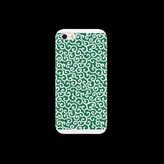 家紋家(かもんや)の[元禄]唐草模様 Smartphone cases