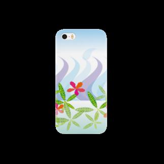 ジルトチッチのデザインボックスのトロピカル・オーシャン Smartphone cases