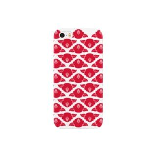 椿(赤) Smartphone cases