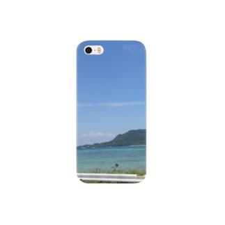 海沿いのドライブ Smartphone cases