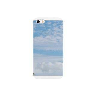 blue sky Smartphone cases