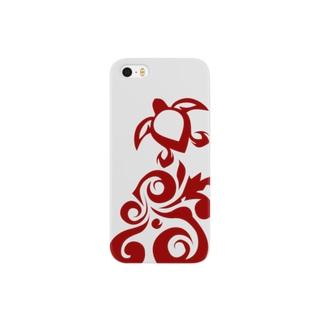 HONU #01 Red スマートフォンケース