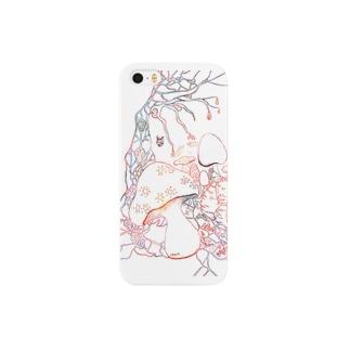 赤い森 dawn 【iPhone5】 Smartphone cases