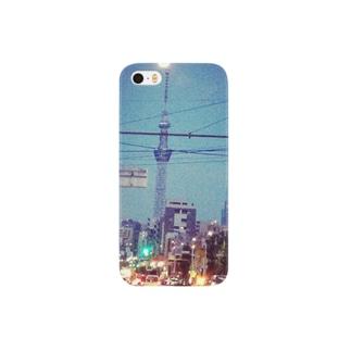 のっぽ棒 Smartphone cases