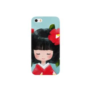 ツバキ(iPhoneケース) Smartphone cases