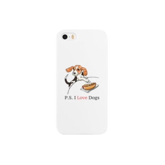 P.S. I Love Dogs(ホット・ドッグ) Smartphone cases