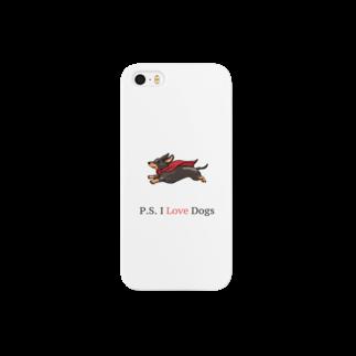リオ・リーバスのP.S. I Love Dogs(スーパードッグ) Smartphone cases
