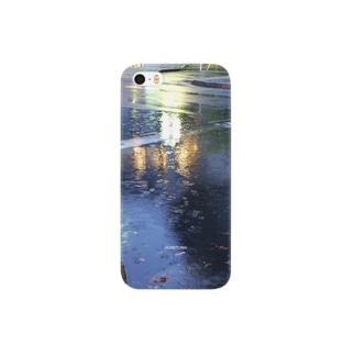 04/21 雨の駅前 HOMETOWN Smartphone cases