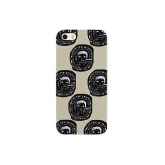 モノクローム。 Smartphone cases