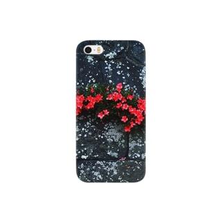 石垣の花 Smartphone cases