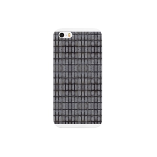 "texture wall ""teppan"" Smartphone cases"