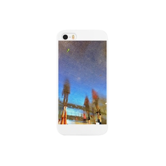 The Rainy Blue Day Smartphone cases