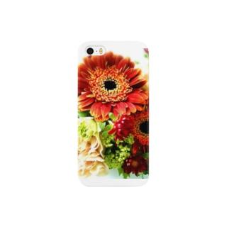 FLOWER【Gerbera】 Smartphone cases