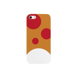 渋谷のチキンマサラ(トマトトッピング) スマートフォンケース