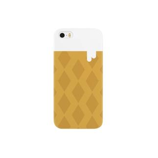 東向島のソフトクリーム Smartphone cases