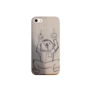 鼻血くんケース Smartphone cases