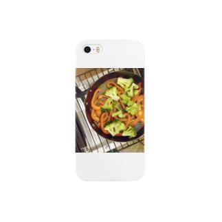 aonekoのベジグリル Smartphone cases