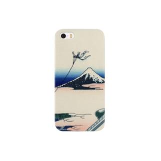 東都浅艸本願寺/葛飾北斎 Smartphone cases