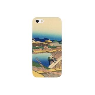 本所立川/葛飾北斎 Smartphone cases