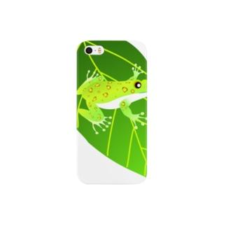 モリアオガエル Smartphone cases