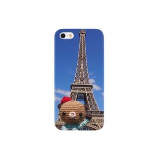 Bonjour!くまこエッフェル塔に行く Smartphone cases