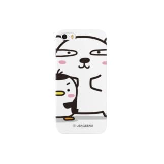 シロクマペンギン Smartphone cases