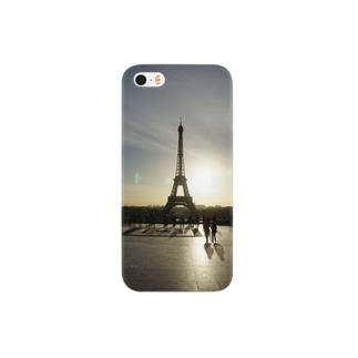 パリの朝 Smartphone cases