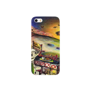 栗原進@夢の空想画家のsunrise Smartphone cases