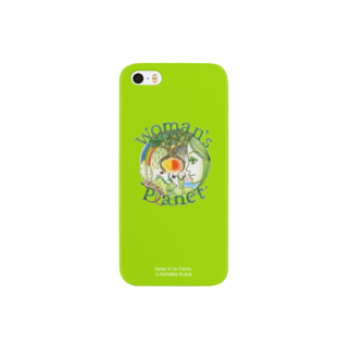 FUTURES PLACEのフレッシュでイキイキと創造的☆Woman's Planet(Fresh Green) Smartphone cases