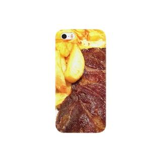 ステーキステキ Smartphone cases