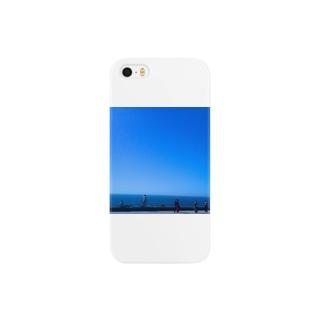 雪スナフのBlue Smartphone cases
