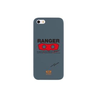 ターキーレンジャーマスク Smartphone cases