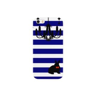 うさぎのマリン風 Smartphone cases