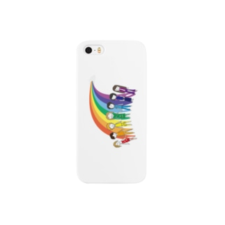 七色の人 Smartphone cases