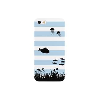海の底 Smartphone cases