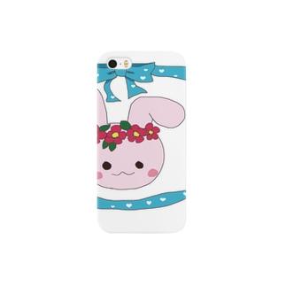 花冠うさちゃん Smartphone cases