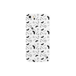むっしゅーさんのヒゲ-紳士のたしなみ Smartphone cases