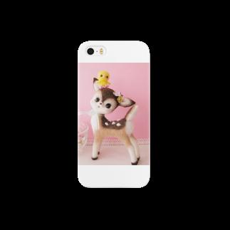 potaのバンビとひよこ Smartphone cases