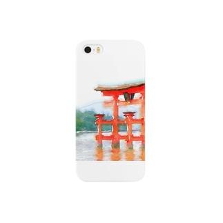 宮島鳥居グッズ Smartphone cases