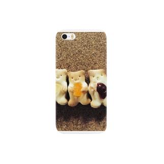 さくさくクッキーベアー Smartphone cases