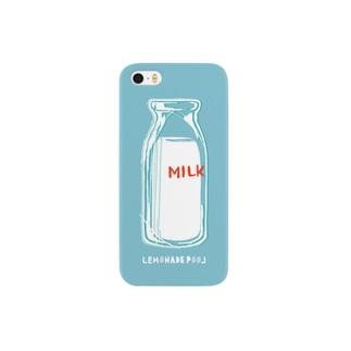 ミルク スマートフォンケース