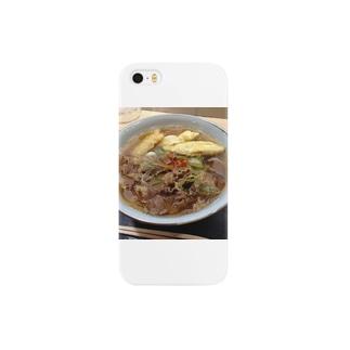 udzuraのごぼ天肉うどん Smartphone cases